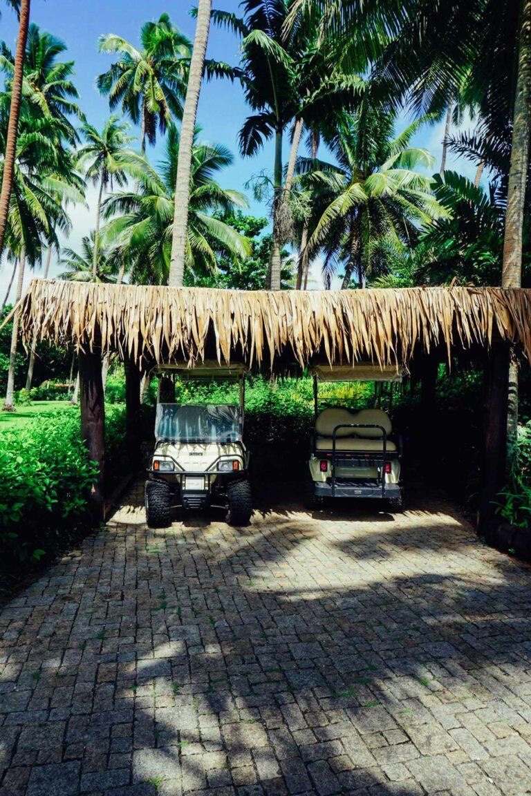 Laucala Island - Golf Carts