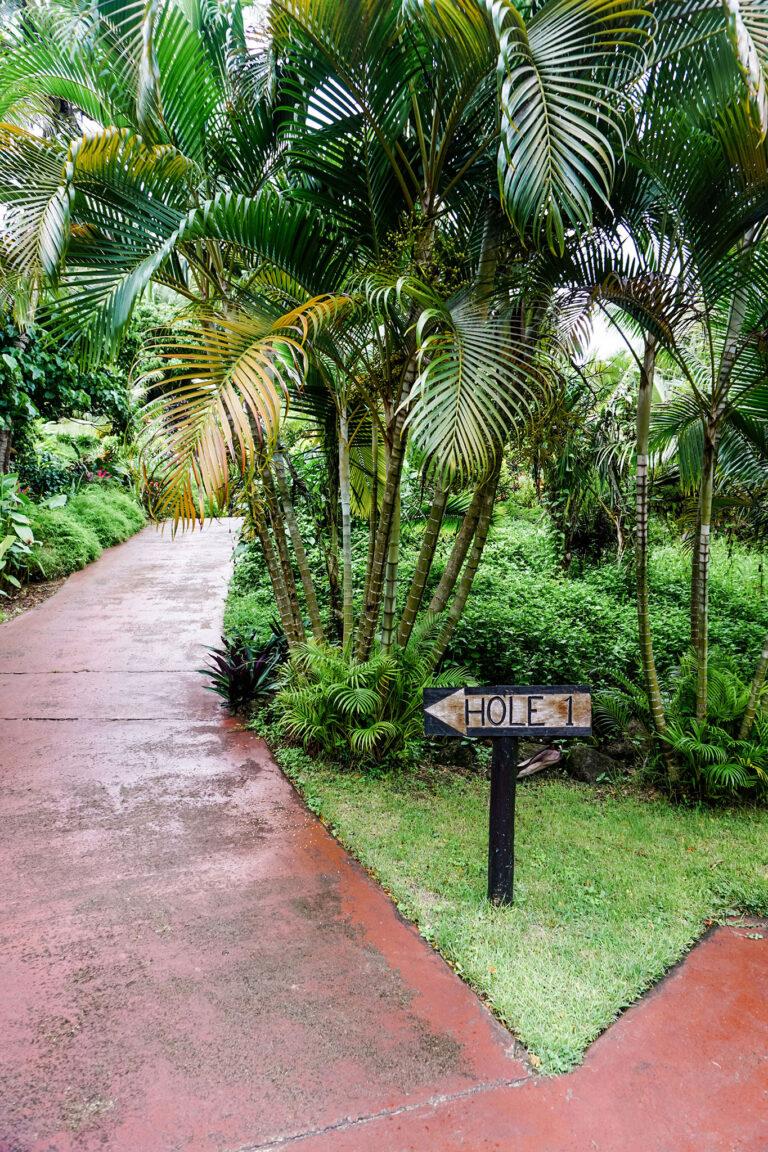 Laucala Island - Golf