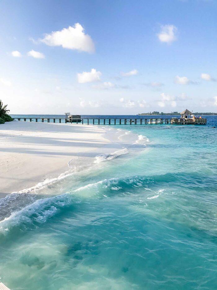 Six Senses Laamu is a dream honeymoon spot in the Maldives.