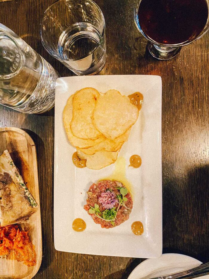 Local Restaurant in Jackson - Buffalo Tartare