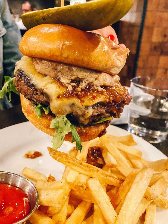 Local Restaurant in Jackson - Foie Gras Burger