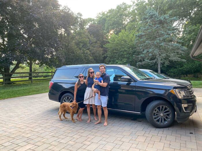 Cross-Country Road Trip Family