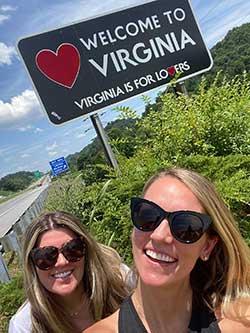 Cross-Country Road Trip Virginia
