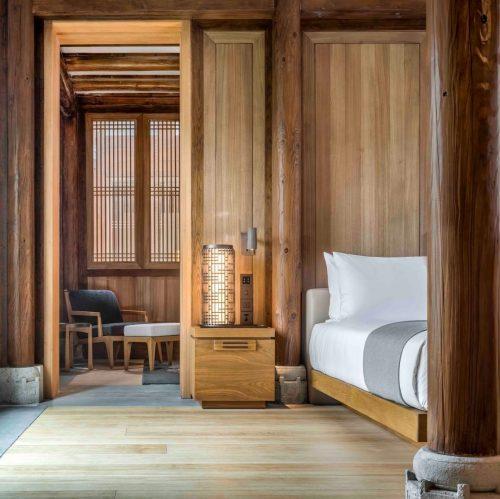 Hotel room at Amanyangyun
