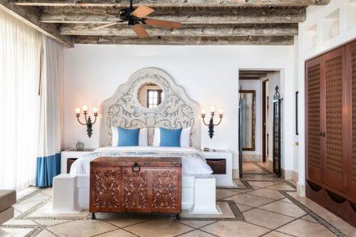Hotel room at Las Ventanas al Paraiso in Los Cabos.
