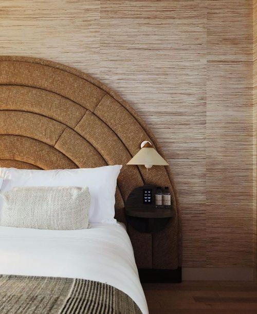 Bed at the Santa Monica Proper hotel
